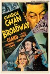 Charlie Chan on Broadway Vintage One Sheet Movie Poster