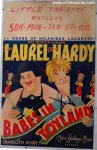 Babes in Toyland Vintage Window Card Movie Poster Laurel Hardy