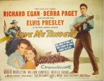Love Me Tender, 1956 Elvis Presley Original Title Card
