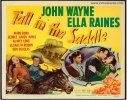 Tall in the Saddle Vintage Western Title Lobby Card John Wayne