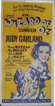 Wizard of OZ Original Vintage Movie Poster 3 Sheet Judy Garland
