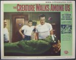 Creature Walks Among Us Original Vintage Lobby Card Movie Poster