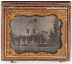 Civil War Photos Daguerreotype Country Home