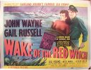 John Wayne Wake of the Red Witch - original title sheet - 1949