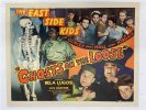 Ghosts on the Loose Vintage Half Movie Poster Lugosi Bowery Boys