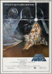 Star Wars Movie Poster 1977 Vintage Sci-Fi FIRST PRINTING