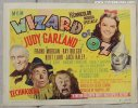 Wizard of OZ, Original Vintage Movie Posters Title Card 1949