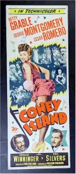 Coney Island, 1943 Betty Grable & Ceasar Romero Insert