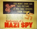 Confessions of a Nazi Spy, 1939 Title Card