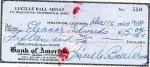 Lucille Ball Autograph Personal Check 1953