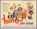 Harvey, James Stewart Vintage Movie Posters Title Lobby Card