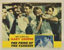 Pride of the Yankees, 1942 Gary Cooper lobby card w/Babe Ruth