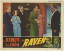 Raven Original Vintage Horror lobby card Movie Poster Lugosi Kar