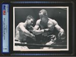 ROCKY MARCIANO v. JOE LOUIS Vintage Wire Photo