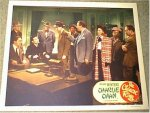 "Charlie Chan ""The Chinese Ring"", 1947 Roland Winters lobby card"