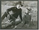 John Wayne - three vintage photos West of the Divide, 1934
