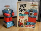 Lost in Space REMCO Robot 1966 w/Original Box RARE BLUE
