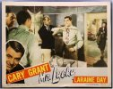 Mr Lucky, Cary Grant, 1943, Lobby Card