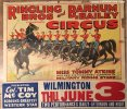 Ringling Bros and Barnum & Bailey Circus Poster TOMMY ATKINS '37