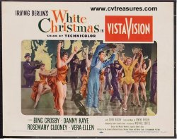 White Christmas 1954 Vintage Lobby Card #3