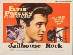 Jailhouse Rock Vintage Movie Poster Half Sheet Elvis Presley
