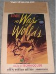 War of the Worlds Window Card Movie Poster, 1953