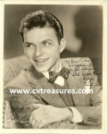 Frank Sinatra Autographed photo to Eileen Barton