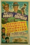 Abbott & Costello Naughty Nineties - one sheet - 1950