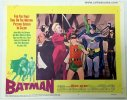 Batman original 1966 Vintage Movie Poster lobby card fighting