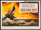 Old Man and the Sea Original Movie Poster Half Sht Spencer Tracy