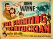 John Wayne Fighting Kentuckian half sheet 1949