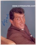 Dean Martin Autographed Signed Color Photo