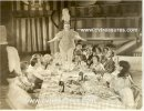 Freaks Vintage Still Photo 1932 group portrait table