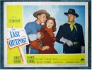 Last Outpost Ronald Reagan Lobby Card 1951