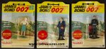 James Bond UNOPENED Gilbert James Bond figures from 1965