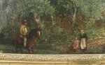 "W F Witherington ""A Halt on the Farm"", circa 1825"