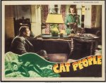 Cat People Vintage Horror Movie Poster Original 1942 Lobby Card