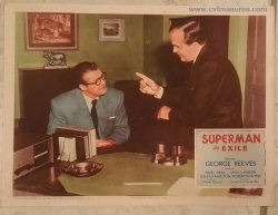 Superman in Exile Original Vintage Lobby Card George Reeves