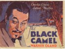 "Charlie Chan ""The Black Camel"" 1931 Warner Oland Original Herald"