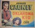Oklahoma Kid 1939 Bogart & James Cagney Title Card