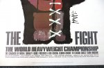 Muhammad Ali vs Joe Frazier Original Fight Poster 1971