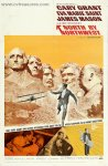 Alfred Hitchcock Movie Poster North by Northwest Vintage 1 sheet