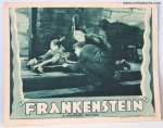 Frankenstein Movie Poster Vintage Lobby Card Boris Karloff '38 2
