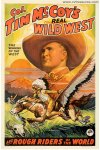 Tim McCoy's Real Wild West Show Original Vintage Movie Poster