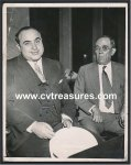 Al Capone Original Vintage Press Photo Lawyer Fink 1931