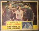 Pride of the Yankees, Gary Cooper lobby card 1942 , 3