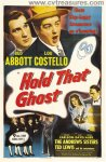 Abbott & Costello Hold That Ghost Vintage Movie Poster 1 sht