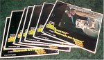 James Bond Movie Posters Diamonds are Forever, 1971 lobby cards