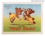Terry-Toons, Mighty Mouse Original Vintage Four Lobby Cards