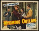 Wyoming Outlaw John Wayne title lobby card 1939